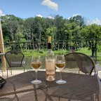 Sunday Funday Two-Fer: La Grange Pickup Picnic and Casanel Rosé on the Deck